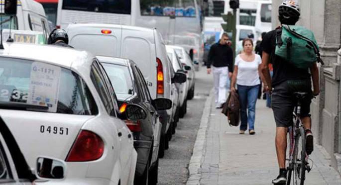 Madrid intensifica las multas al cicular por aceras en bicicleta