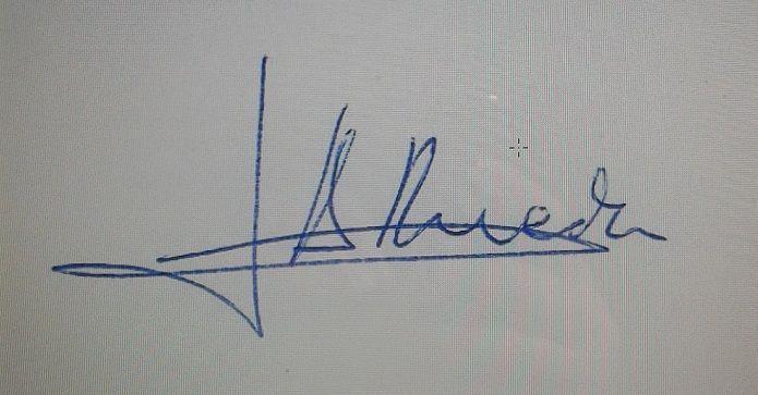 Firma Tono Rueda
