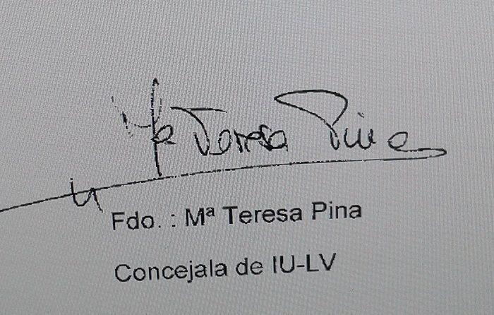 Firma Maite Pina