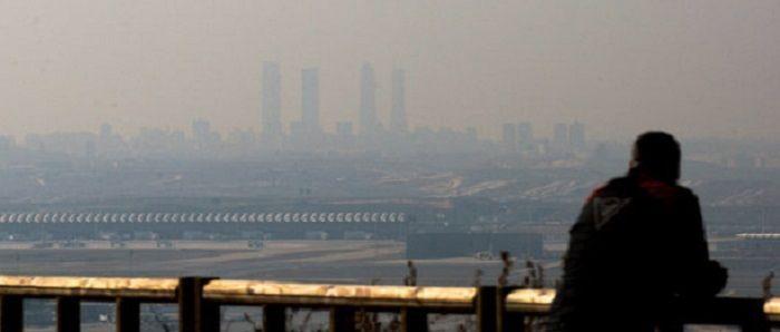 La-contaminacion-sobre-Madrid-