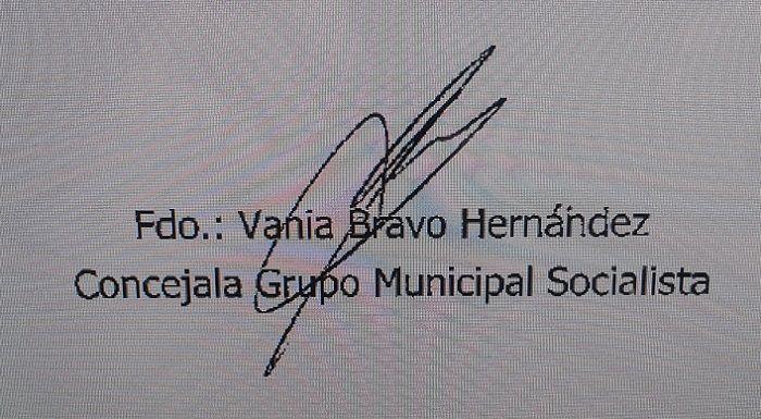 Firma Vania Bravo
